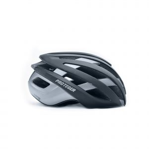 Helm Sepeda RoadBike Proteger Jupiter black grey